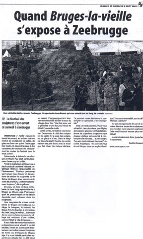 La Dernière Heure 2 zand 2003