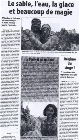 La Dernière Heure zand 2003