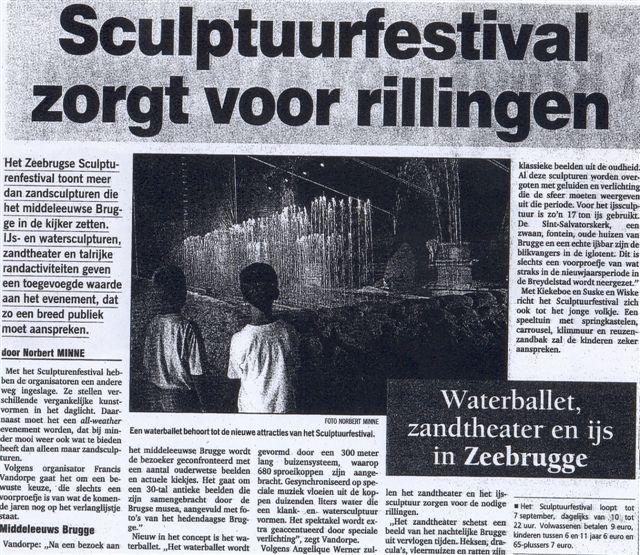 Nieuwsblad 2 zand 2003