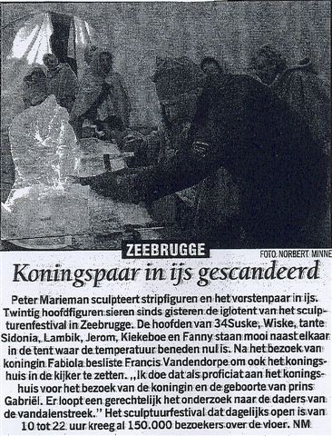 Nieuwsblad zand 2003